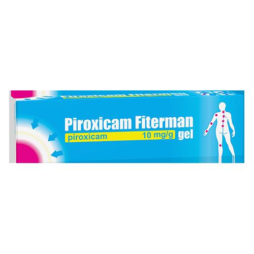 Piroxicam Fiterman 10 mg/g, gel