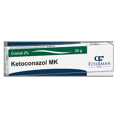 Ketoconazol MK, crema