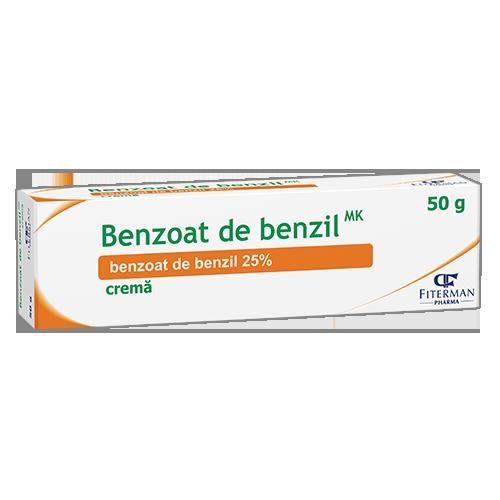 Benzoate de benzyle MK, crème