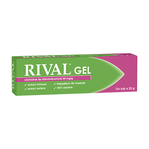 Rival® 20 mg/g gel