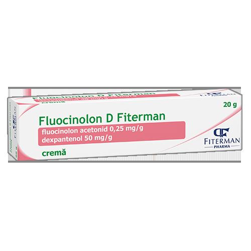 Fluocinolon D Fiterman, crema