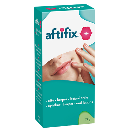 Aftifix, oral gel