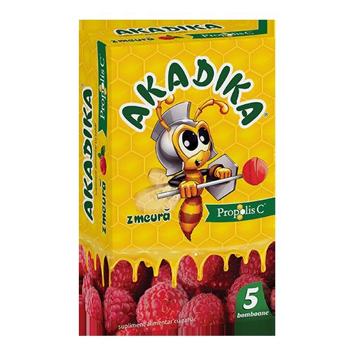 Akadika® Propolis C® Малина, 5 леденцов