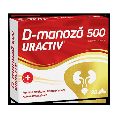 Uractiv® D-Manoza, капсулы