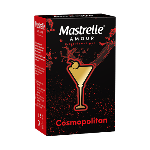 Mastrelle® Amour Cosmopolitan, gel lubrefiant